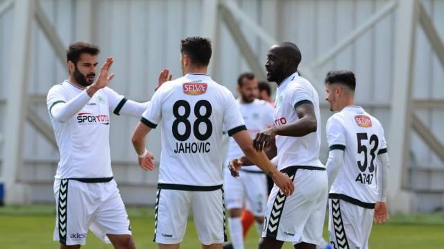 Atiker Konyaspor 2 - 0 Adanaspor (Maç özeti)