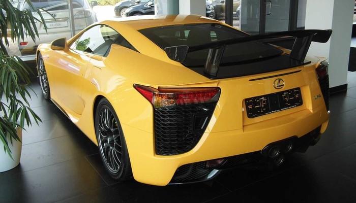 Lexus'a 7 milyon dolarlık etiket